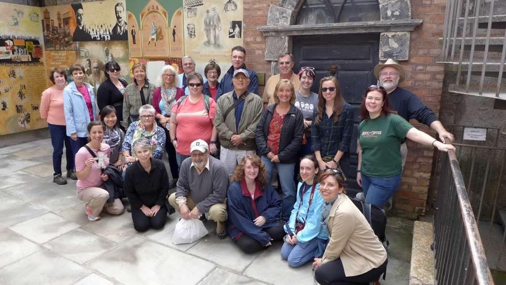 Kurt & I enjoyed traveling in Ireland with Barbara (and the SUNY Geneseo Alumni group) in 2015.